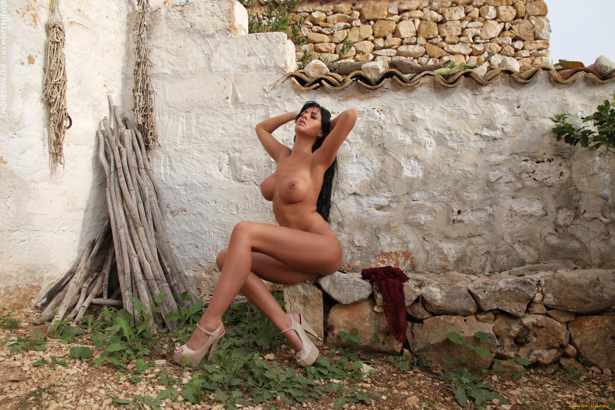 Naked village vixens